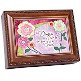 Daughter Cottage Garden Woodgrain Traditional Music Box Plays You are my Sunshine