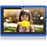 JEJA 7 Pollici Android Tablet PC Google 4.2.2 8GB WiFi Dual Core Doppia Fotocamera Touch Screen Capacitivo Allwinner A23 1.5GHz 512MB DDR3 - Colore Blu