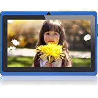 "JEJA 7"" pouces Tablette PC Google Android 4.2.2, Allwinner A23 DDR3 Dual Core 1.5GHz 512Mo RAM 8Go ROM Dual Caméras WiFi Écran Tactile Capacitif Tablette PC (Bleu)"