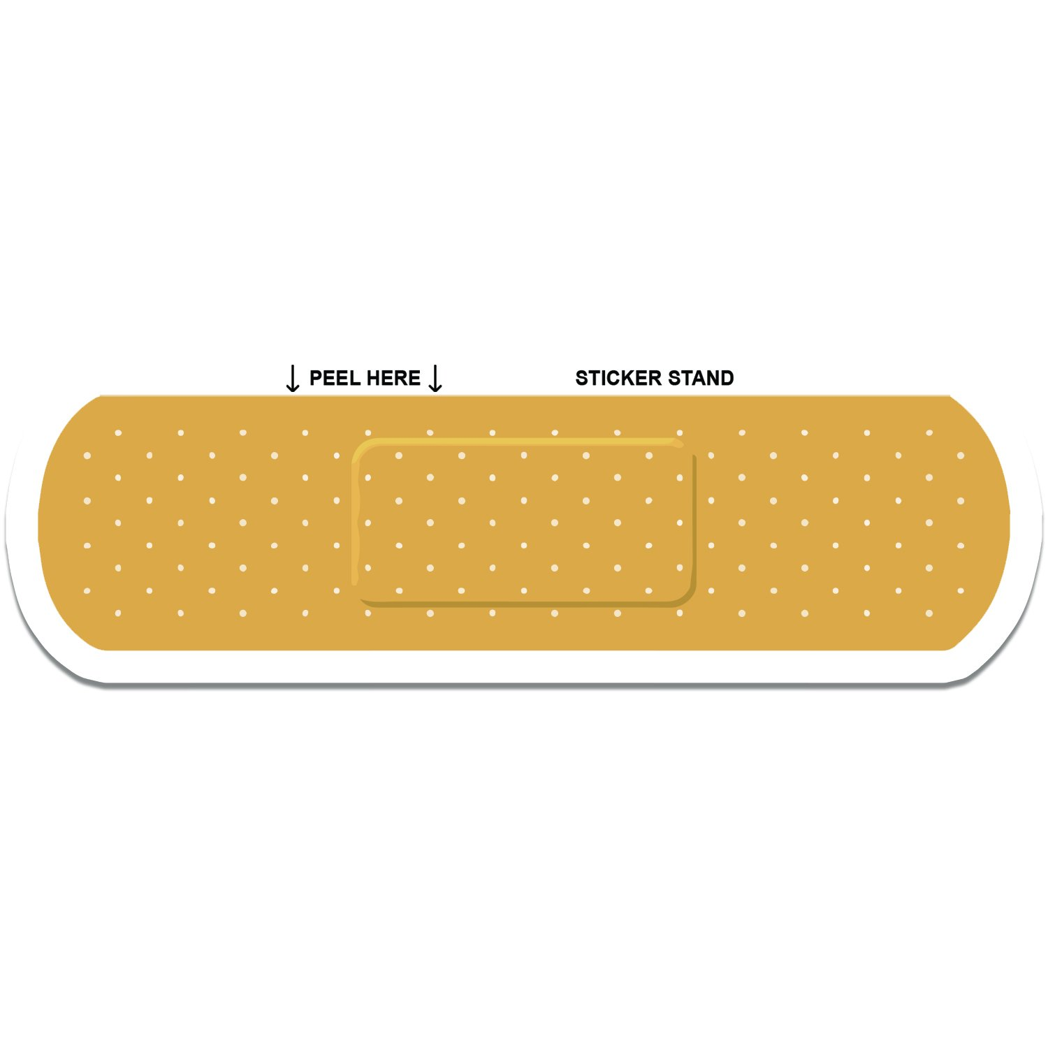 Band-aid Bandage Car Decal Sticker Sticker Stand