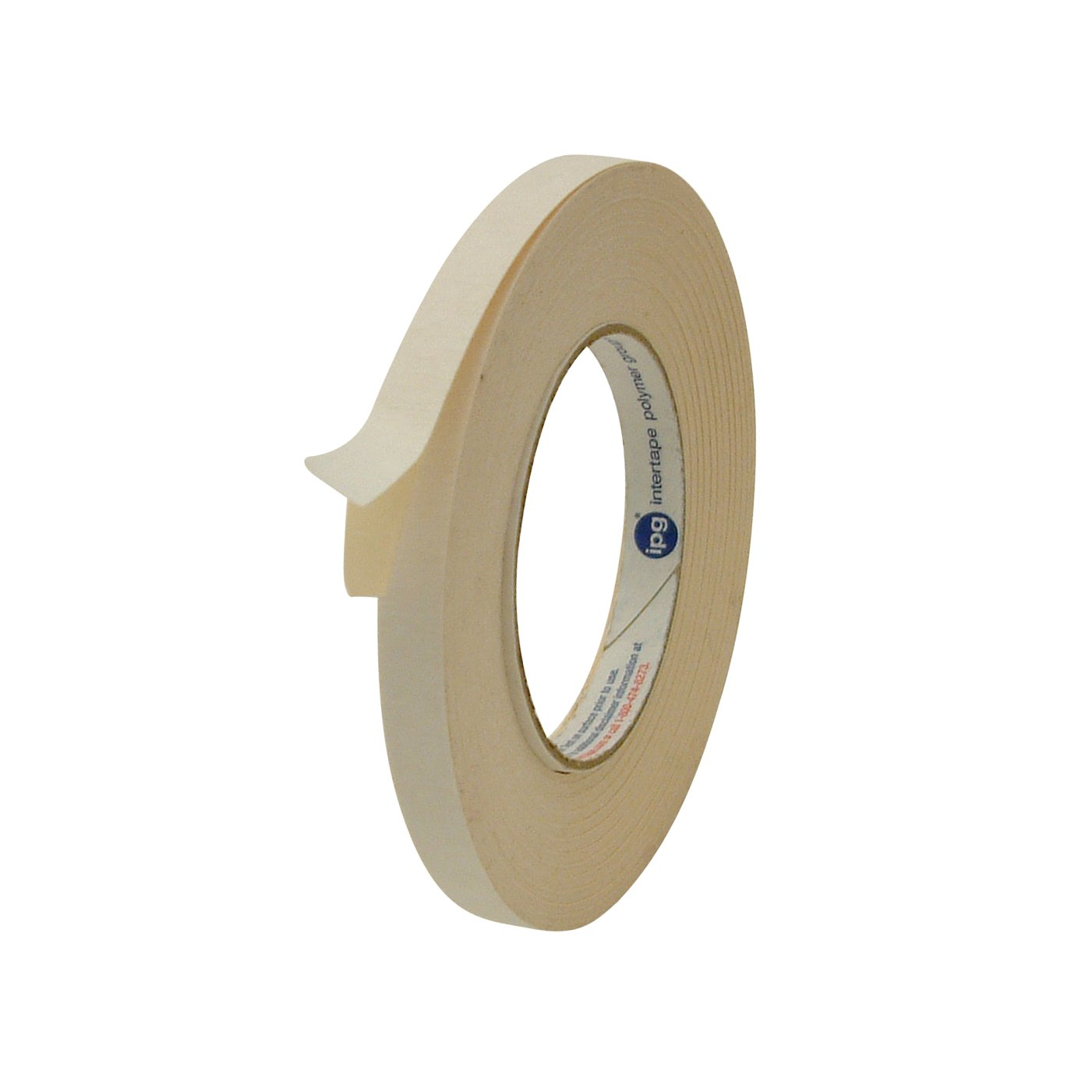 Intertape 591 Beig0536 Double Sided Flat Back Paper Wiring Loom Tape Nz 1 2 X 36 Yd Beige Industrial Scientific