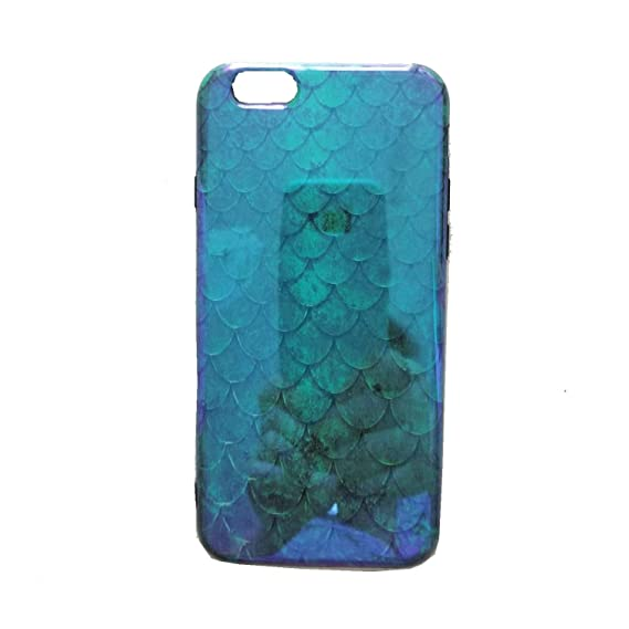 new concept f1429 ae05c Amazon.com: Green Mermaid iPhone 6 Case,iPhone 6s Case,Easue Emerald ...