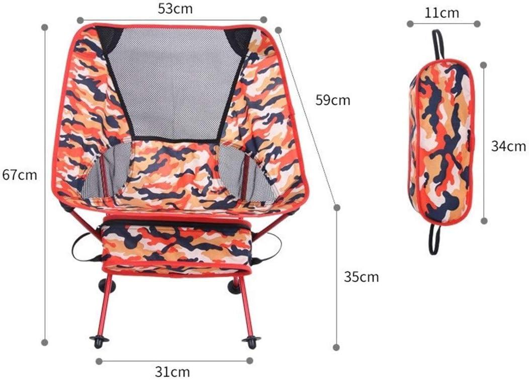 Klappstuhl im Freien kampierende Oxford Cloth Fischen-Stuhl Heller bewegliche Freizeit Strand-Stuhl für Camping Angeln Wandern Jagd BBQ Blue