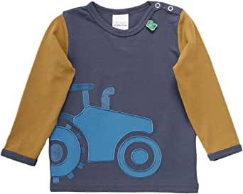 Fred's World by Green Cotton Tractor Front T Baby Camiseta para Bebés