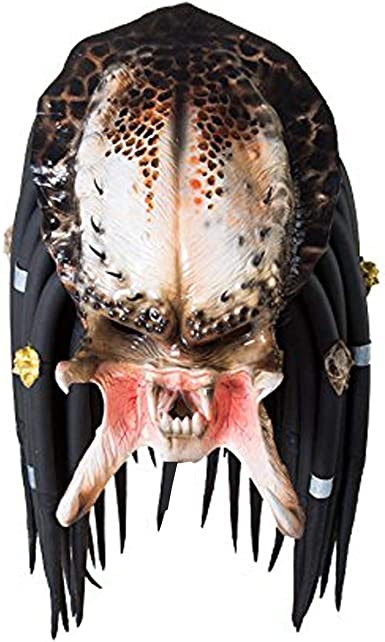 Predator Movie Halloween Mask Costume Cosplay Latex Party Mask Dress Up Costume