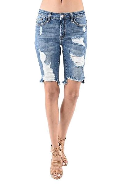 Amazon.com: KanCan Jeans KC5143M - Pantalones cortos para ...