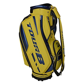 Bridgestone Golf tourb Staff Bag 9, 5 Yellow Bolsa de Golf ...
