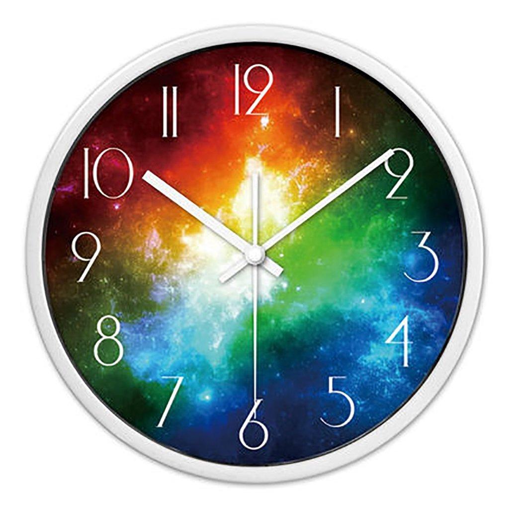 リビングルームクリエイティブ現代のクォーツ時計のベッドルーム静かなパーソナライズされたシンプルなファッションウォールクロック (色 : 2, サイズ さいず : S s) B07FPXZP58 S s 2 2 S s