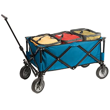 Amazoncom Portal Collapsible Folding Utility Wagon with Cooler