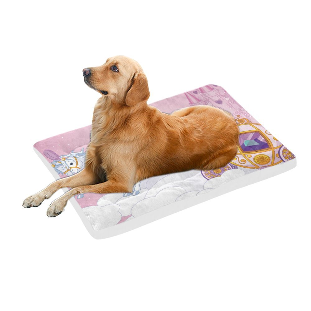 42\ your-fantasia Fairy Tale Carriage in the Sky Pet Bed Dog Bed Pet Pad 42 x 26 inches