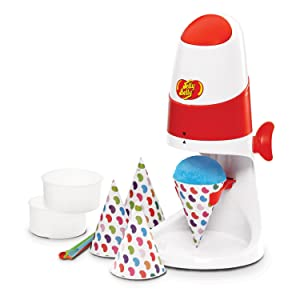 Jelly Belly Electric Ice Shaver With Bonus Cone Cups & Straws