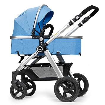 ERRU- Cochecito de bebé plegable /Puede sentarse de dos vías ...