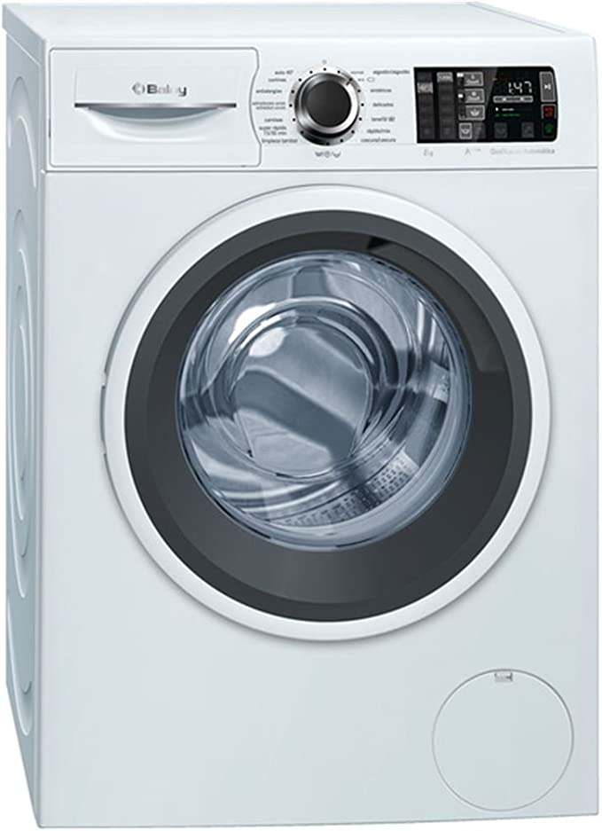 Balay 3TS986BA Independiente Carga frontal 8kg 1200RPM A+++ Blanco ...