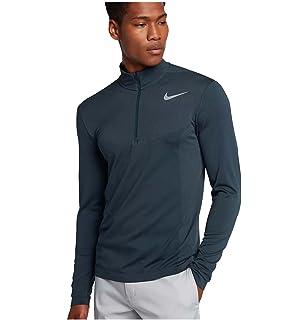 Nike Mens Dri-Fit Knit Half-Zip Pullover