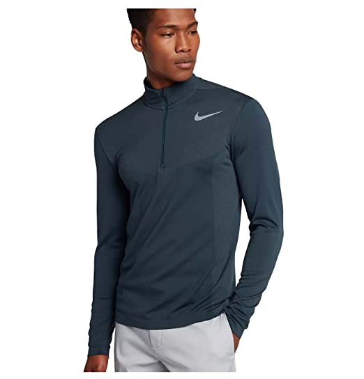 82eb2c6db9eb Amazon.com  Nike Men s Dri-Fit Knit Half-Zip Pullover  Sports   Outdoors