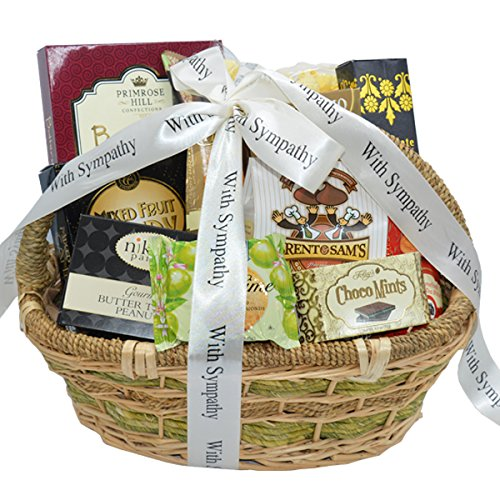 Deepest Sympathy Gift Basket - Deepest Sympathy and Condolences Gift Basket   Bereavement Gift Basket (Large)