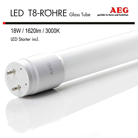 AEG LED All de PC T8 Tube 18 W G13 LED Tubo Para Tubo Fluorescente de