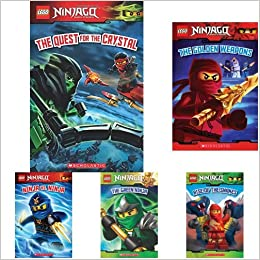 进口原版) 乐高读物 Lego Ninjago 系列 The Quest for the ...