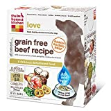The Honest Kitchen Love Grain Free Dog Food - Natural Human Grade Dehydrated Dog Food, Beef, 4 lbs (Makes 16 lbs)