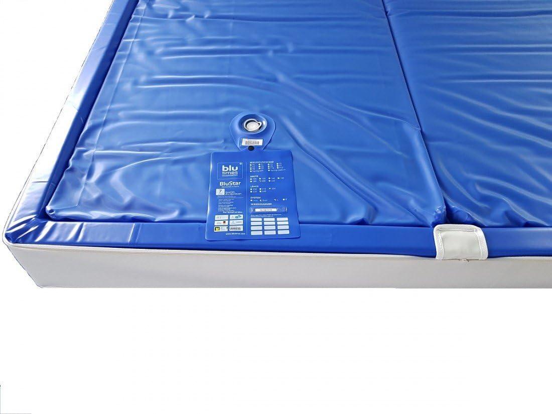 Amazon.de: BluTimes BluStar Wasserkerne Softside Dual Wasserbettmatratze verschiedenen Größen und -