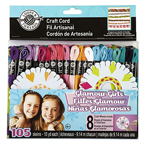 Craft Cord, Glamour Girls by Loops & Threads