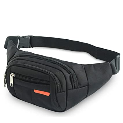 Waist Bag Festival Fanny Pack Pouch Bumbag with Bottle Holder Travel Outdoor