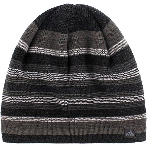 Adidas Jersey Hat (Adidas Men's Keystone II Beanie (One Size, Black/Deepest Space/Grey/Light Onyx/Dark Grey))