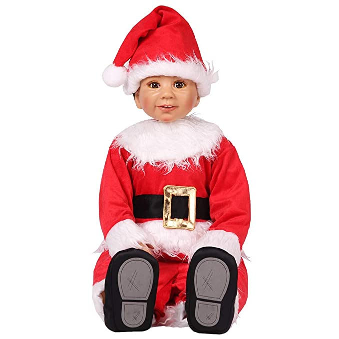 Toddler Christmas Outfit.Hug Me Toddler Baby Infant Santa Claus Onesize Dress Up Toddler Christmas Costume