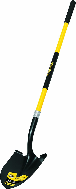 60-Inch Fiberglass Handle Truper 30030 Tru Pro 4-Tine Forged Cultivator Pack 2- 5-Inch Head