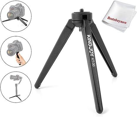 Kingjoy kt-30 aluminumportable Mini trípode de Mesa para cámaras ...