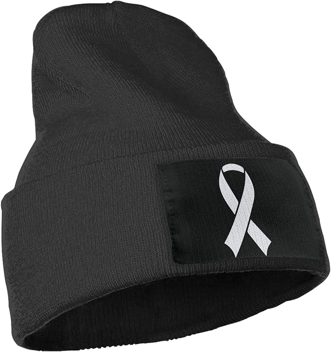 Stretchy /& Soft Winter Cap Brain Cance Awareness American Flag Men /& Women Solid Color Beanie Hat Thin