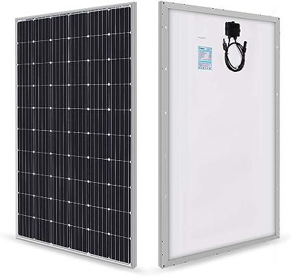 Amazon.com : Renogy 280 Watt 24 Volt Monocrystalline Solar Panel : Garden &  Outdoor