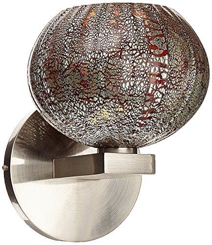 Access Lighting 23670-BS/RRO Safari Wall Lamp, Brushed Steel