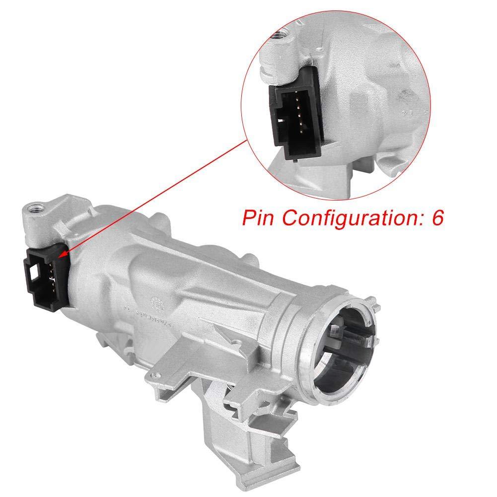 Ignition Switch Steering Lock Barrel Housing Steering Lock Cylinder Starter Ignition Switch 1K0905851B 1K0905865