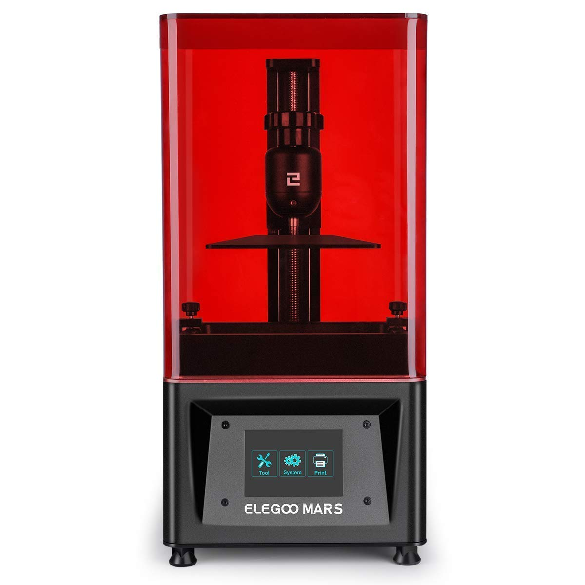 ELEGOO Mars UV Photocuring LCD 3D Printer and ELEGOO 2 PCS Metal Resin Tank Bundle