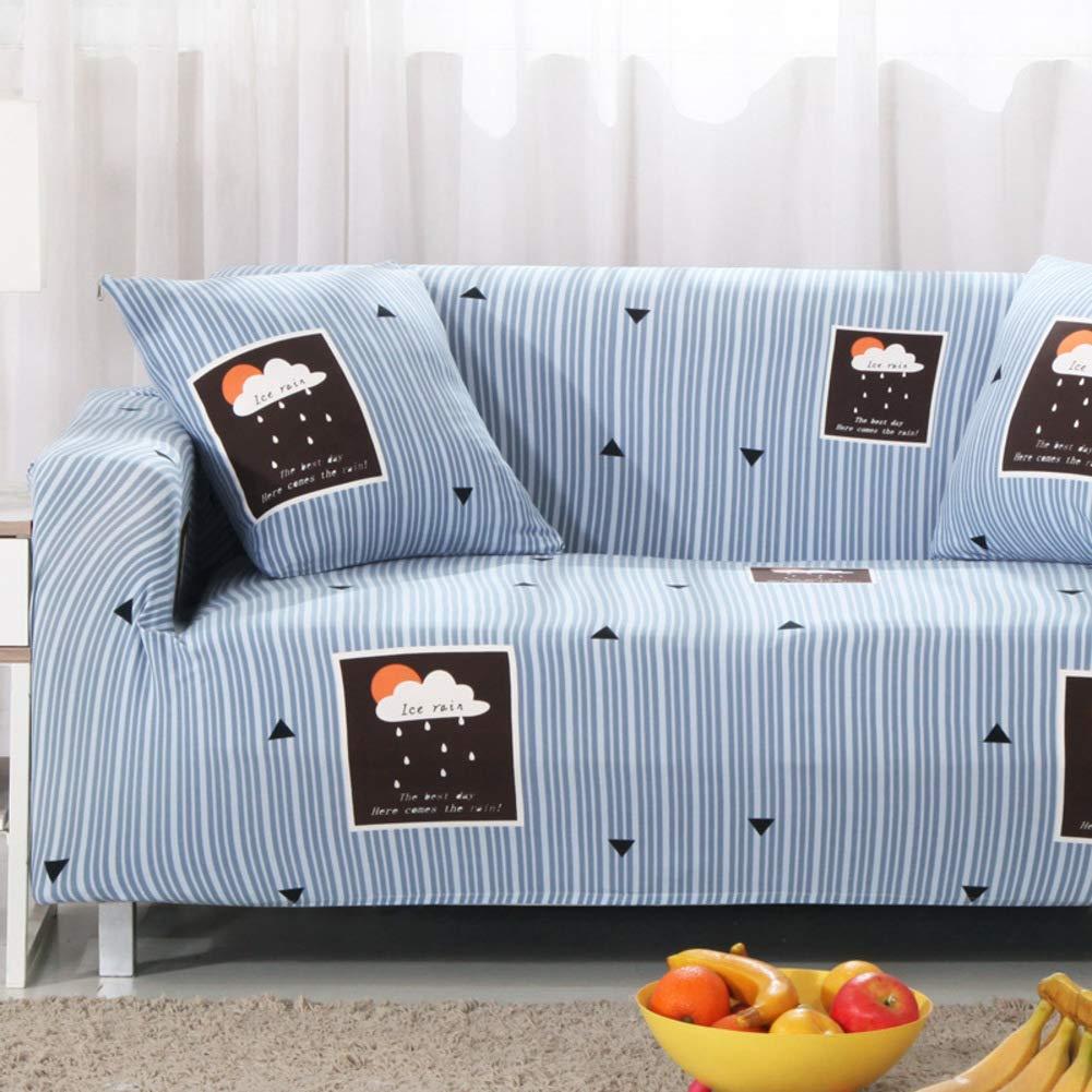 ペット犬のためのスリップ防止家具の保護装置、高弾性のソファーのスリップカバーのソファーの投げパッドのU字型のソファーのための簡単なソファカバー1 2 3 4座席G 4 Seater(92 * 118inch)   B07T829BVR