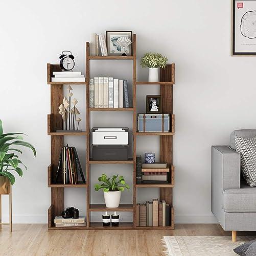 Tribesigns 12-Shelf Bookcase - a good cheap modern bookcase