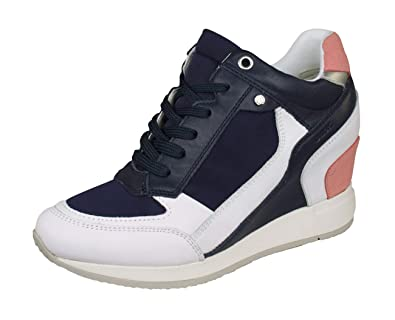 Geox D Nydame A, Sneaker a Collo Alto Donna: Amazon.it
