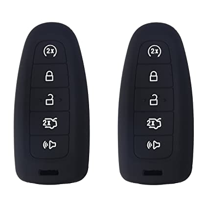 Werfdsr Pcs Xuhang Sillicone Key Skin Cover Key Remote Case Protector Shell For Ford Edge Escape