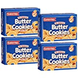 Salerno Cookies, The Original Butter Cookies, 8 Ounce (Pack of 4)
