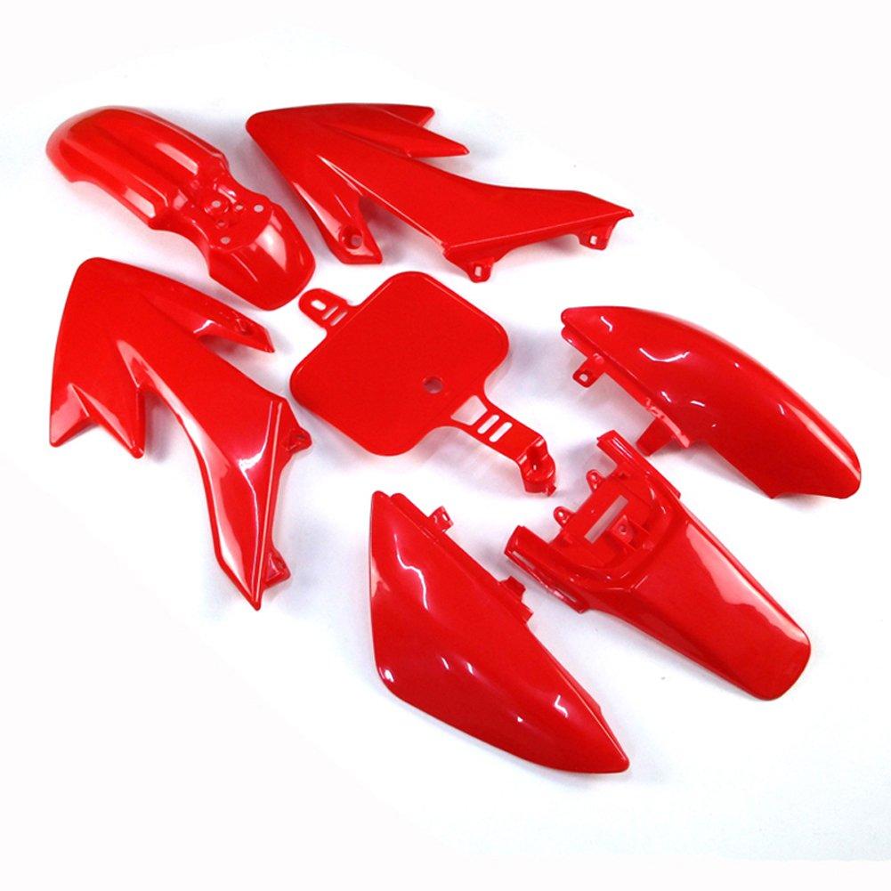 TC-Motor Pink Plastic Fender Fairing Kit For Honda XR50 CRF50 Chinese 50cc 90cc 110cc 125cc 140cc 150cc 160cc Dirt Pit Bike