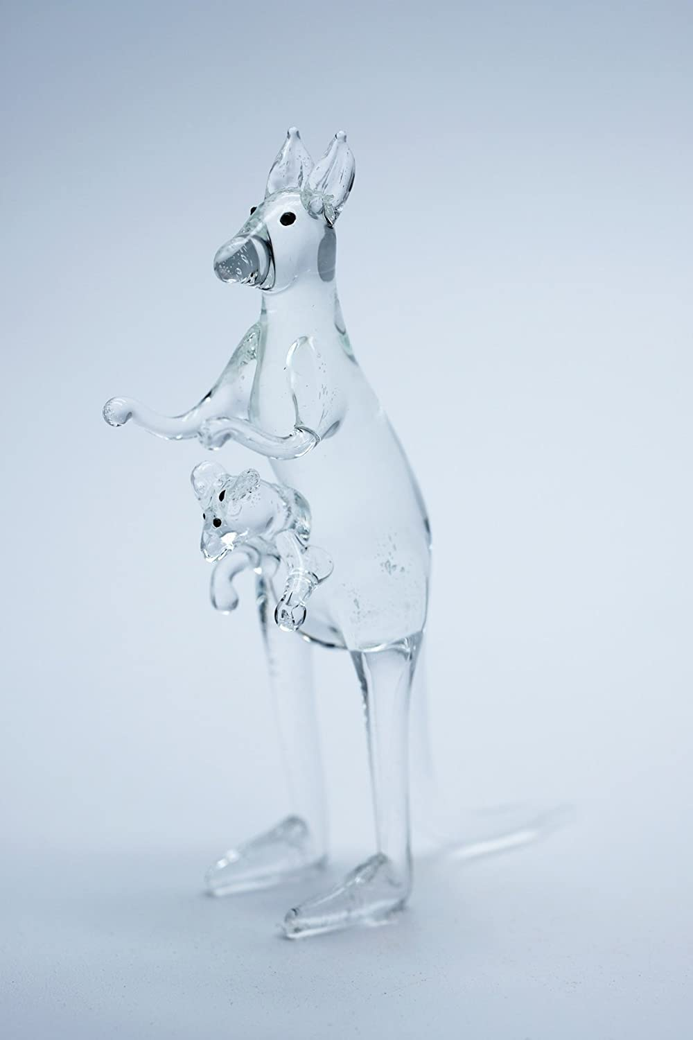3 D Crystal Toy Kangaroo Boxing Hand Bowl Glass Dollhouse Miniatures Decoration CoolPrice Glass
