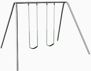Amazon Com Af 20 Swing Set 8 Foot Tall Heavy Duty 2 Seats A Frame