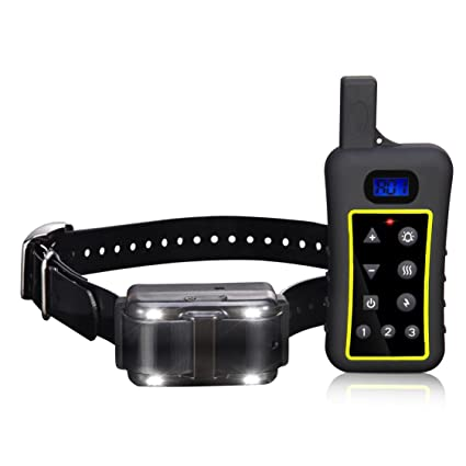 Pet Control HQ Remote Trainer - 1300 Yard Range – Waterproof, Rechargeable Dog Training Collar with Tone, Vibration, Shock & Anti-Barking Device Included ...