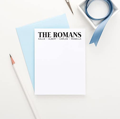 Amazon.com: Personalized Family Stationery Set, New Home Gift Ideas ...