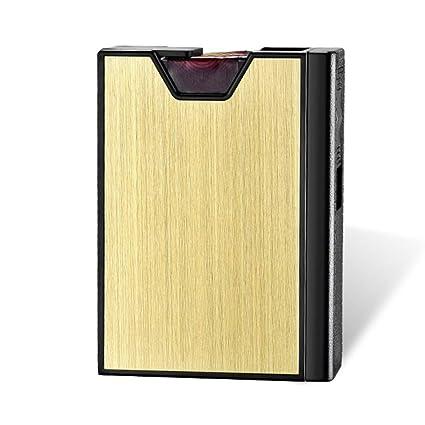 Estuche de Cigarrillos -20 Sticks USB Extraíble Encendedor ...