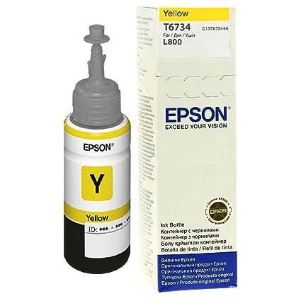 Epson T6734 cartucho de tinta Original Amarillo 1 pieza(s) - Cartucho de tinta para impresoras (Original, Tinta a base de pigmentos, Amarillo, Epson ...