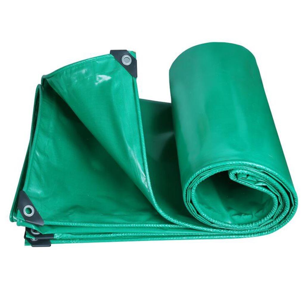 Plane JIU Imprägniern Sie Tuch-LKW Grün des Schattenstoffes im Freien Sonnenschutz Sehr praktisch (größe   Grün-2x3m)