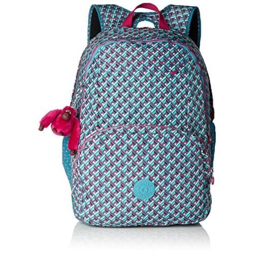 Kipling - Hahnee - Grand sac à dos - Multicolore (Summer Pop Bl) - (Multi - couleur)