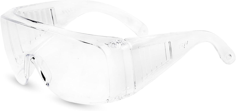Atope 150.01 Gafas de Protección, Transparente, L